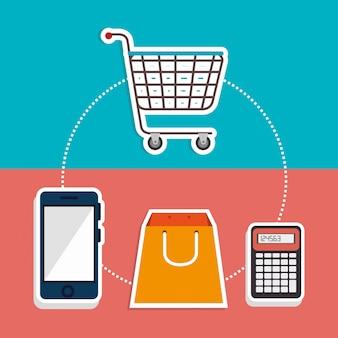 Marketing online e vendite di e-commerce