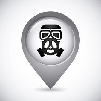 Maschera di gas