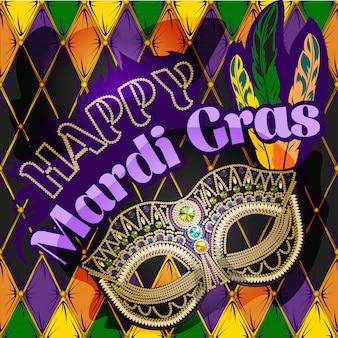 Maschera di mardi gras