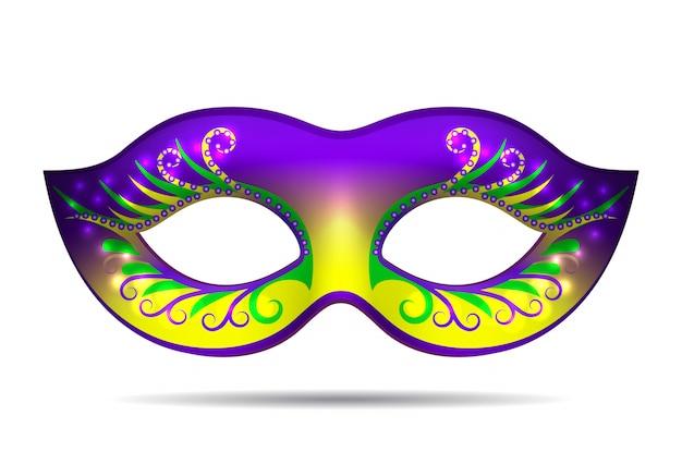 Maschera mardi gras