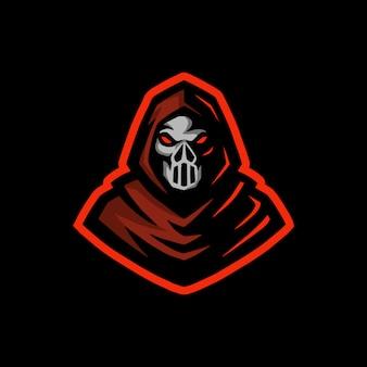 Maschera uomo mascotte logo esport