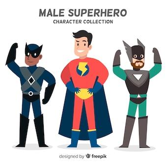 Maschio supereroe collectio