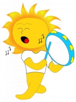 Mascota sol