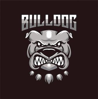 Mascotte bulldog