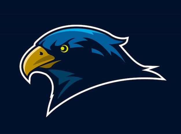 Mascotte sport uccello