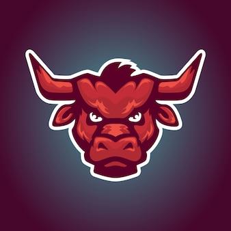 Mascotte testa di toro