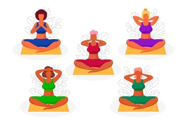 Massaggia l'autoguarigione con pose reiki