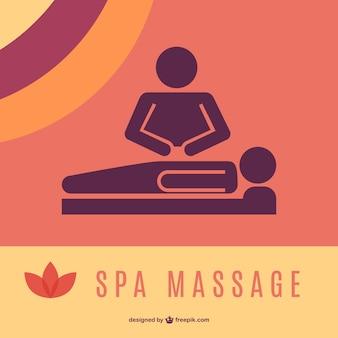 Massaggio grafica del logo