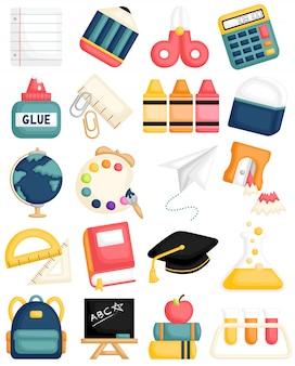 Materiale scolastico carino