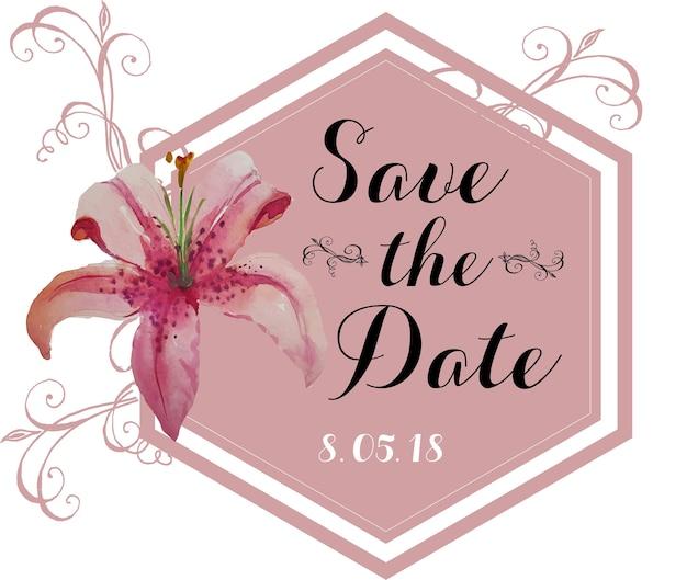 Matrimonio di fiori rosa