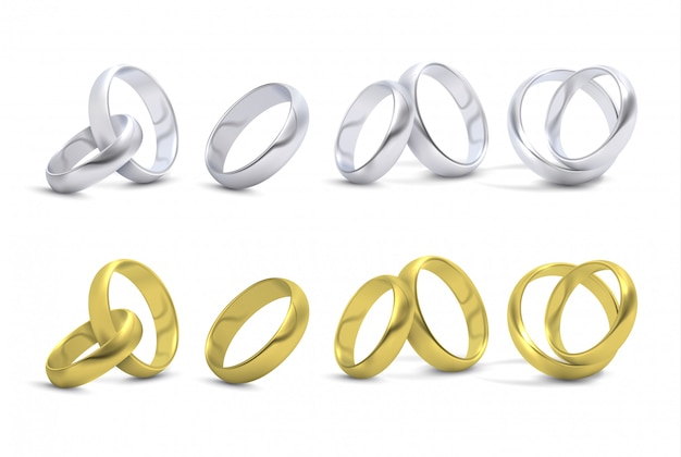 Matrimonio in oro e argento