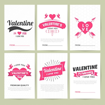 Matrimonio retro vintage vector label per banner