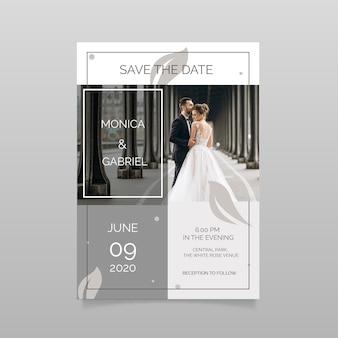 Matrimonio salva l'invito con foto