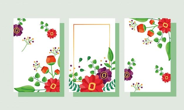 Matrimonio salva le carte fiori data