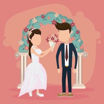 Matrimonio solo carta sposata