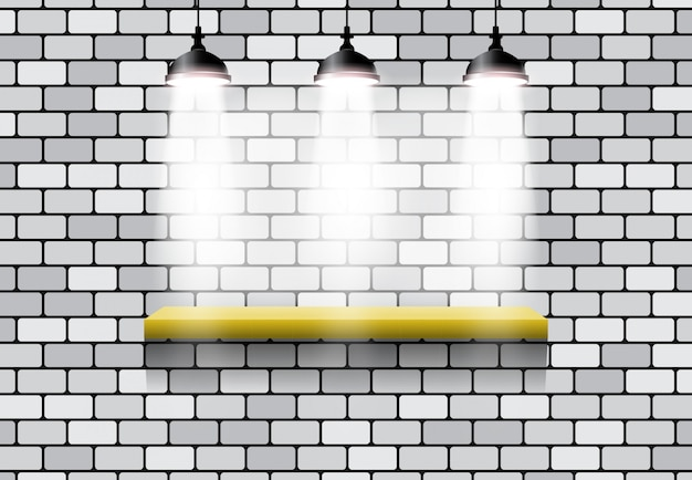 Mattone a 3 effetti di luce