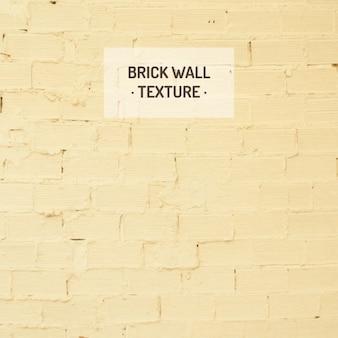 Mattoni gialli struttura della parete