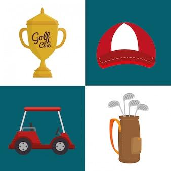 Mazza da golf sportiva