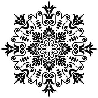Meandro ornamento greco