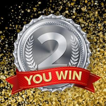 Medaglia d'argento, argento secondo posto