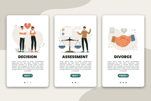Mediazione di divorzio - schermate di integrazione