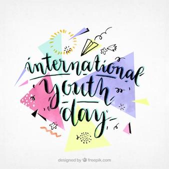 Memphis sfondo della giornata internazionale della gioventù