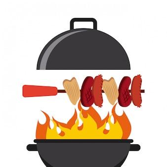 Menu barbecue