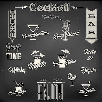 Menù di cocktail