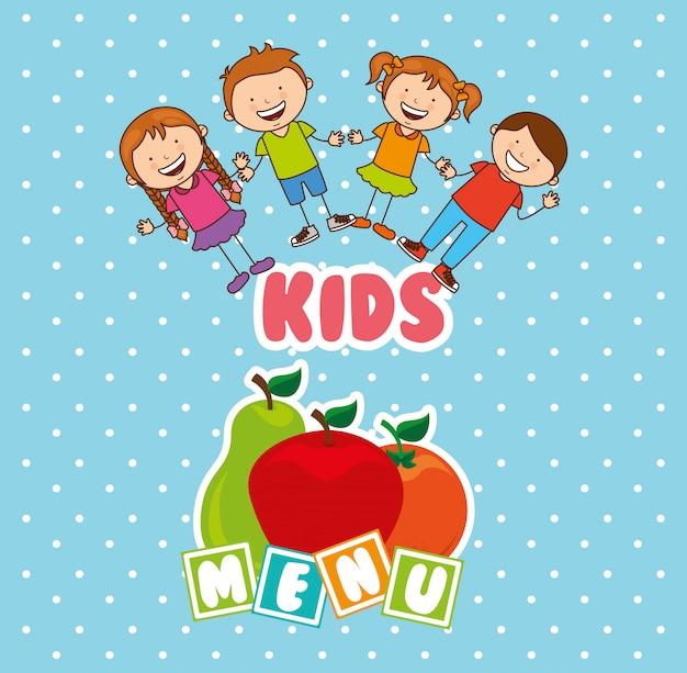 Menu per bambini