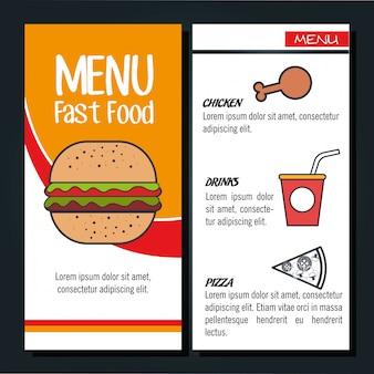 Menu ristorante design