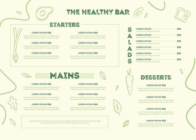 Menu ristorante digitale