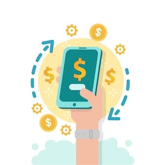 Mercato delle criptovalute per lo scambio. servizio di cambio valuta mobile
