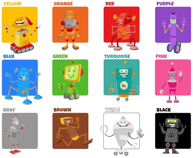Mescola i compiti educativi dei colori per i bambini