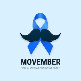 Mese di sensibilizzazione sul cancro alla prostata di movember
