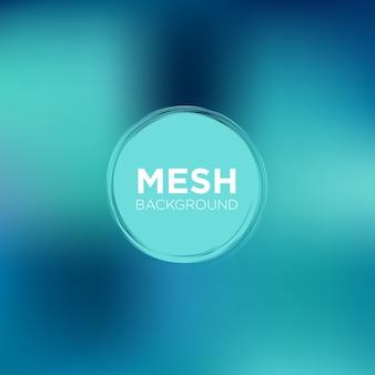 Mesh background in tonalità blu turchese
