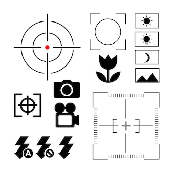 Messa a fuoco del design della fotocamera