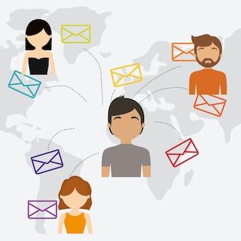 Messaggio del mondo di comunicazione della comunità