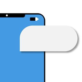 Messaggio di notifica e-mail per telefono cellulare