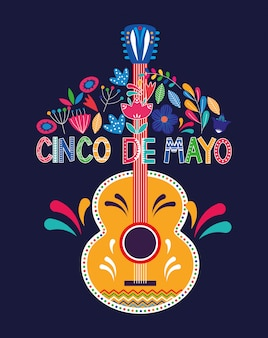 Messico cinco de mayo card