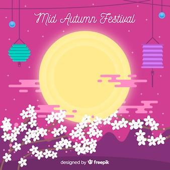 Metà di sfondo festival autunnale