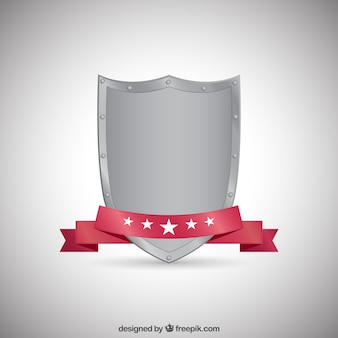 Metallic scudo medievale