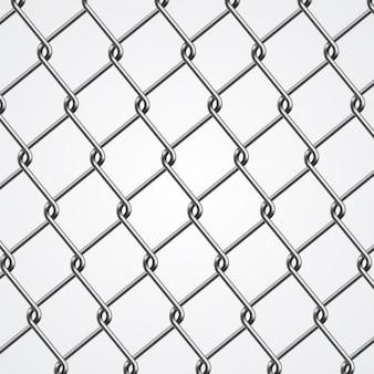 Metallo sfondo recinzione