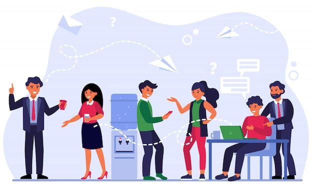 Metodi di contatto tra colleghi