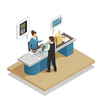 Metodi di pagamento composizione isometrica in contanti