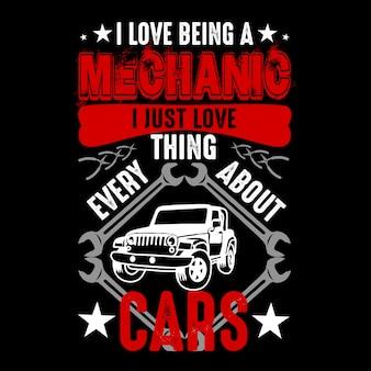 Mi piace essere un meccanico