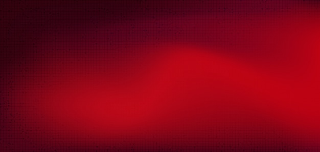 Microchip rosso del circuito sul fondo di tecnologia, digital alta tecnologia e progettazione di massima di sicurezza, spazio libero per testo messo, illustrazione.