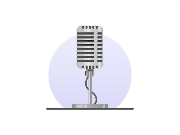 Microfono con supporto