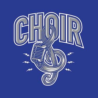 Microfono coro