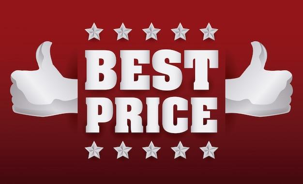 Miglior design dei prezzi.