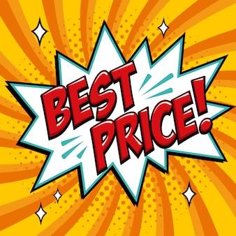 Miglior prezzo parola in stile fumetto. fumetto di testo comico di prezzo migliore.